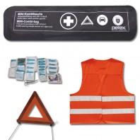 EHBO-kit bestaande uit Driehoek, EHBO-set en Veiligheidsvest