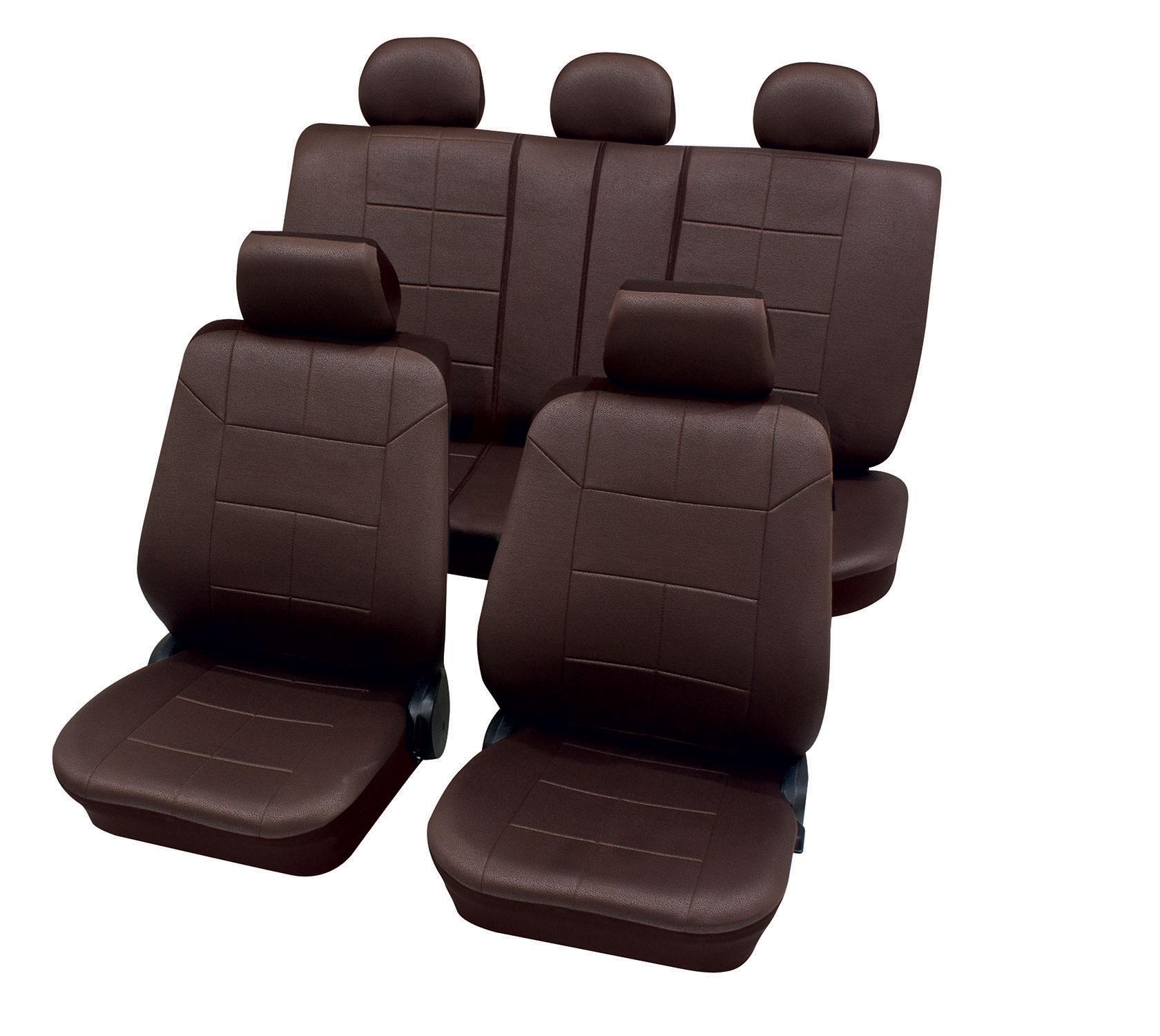Autostoelhoezen - Dakar- Bruin