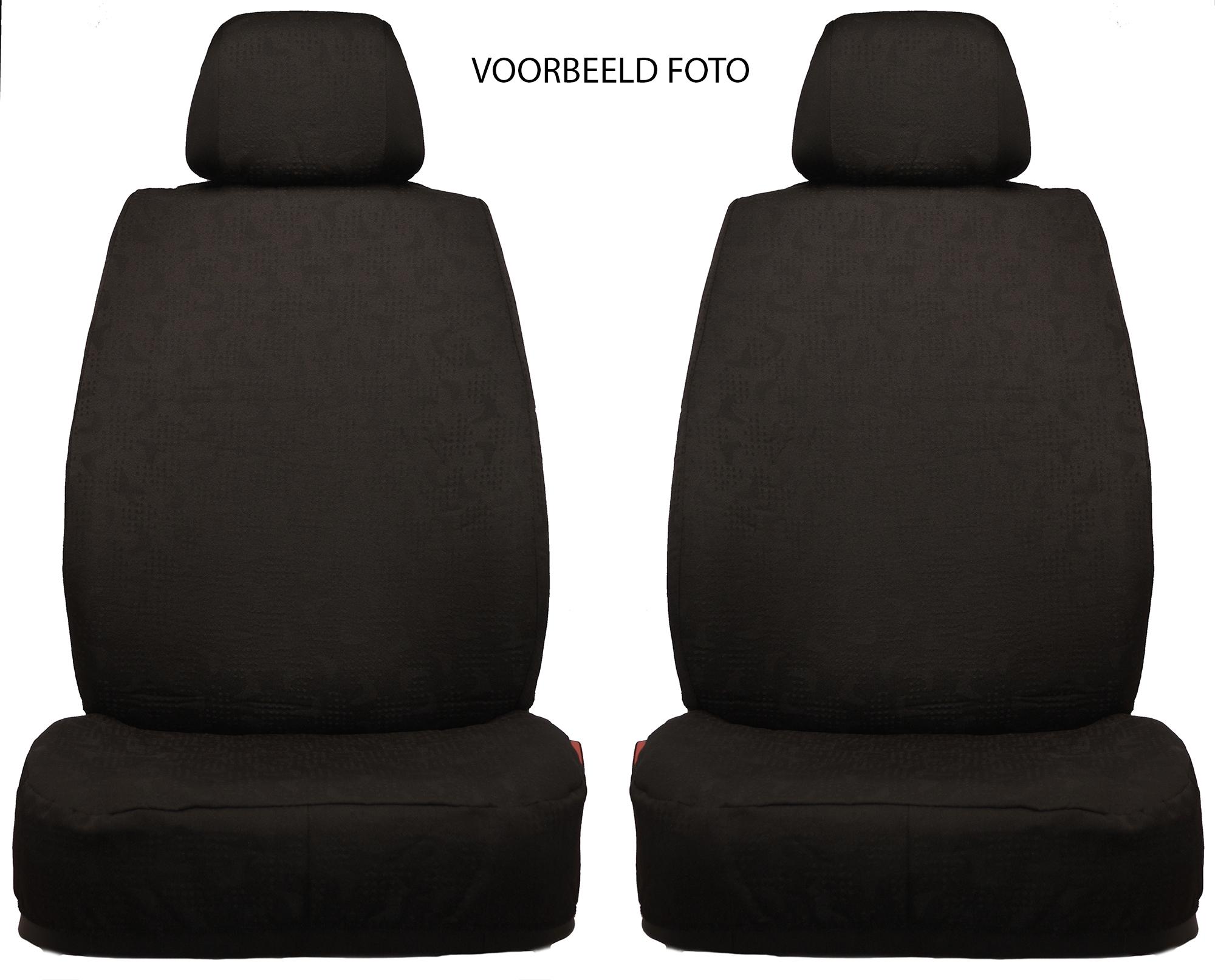 Pasvorm stoelhoezenset - TEX206SS - Zwart
