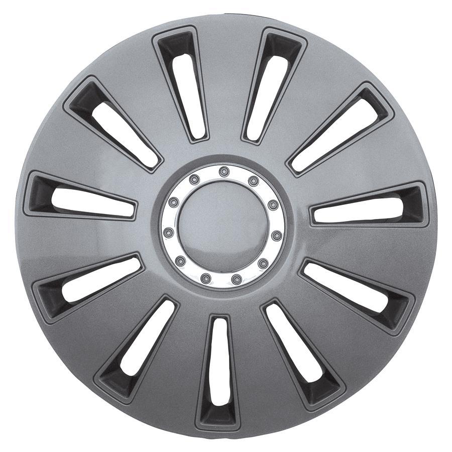 Wieldoppenset - Silverstone Pro Dark  16 inch