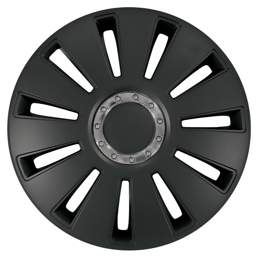 Wieldoppenset - Silverstone Pro black 15 inch