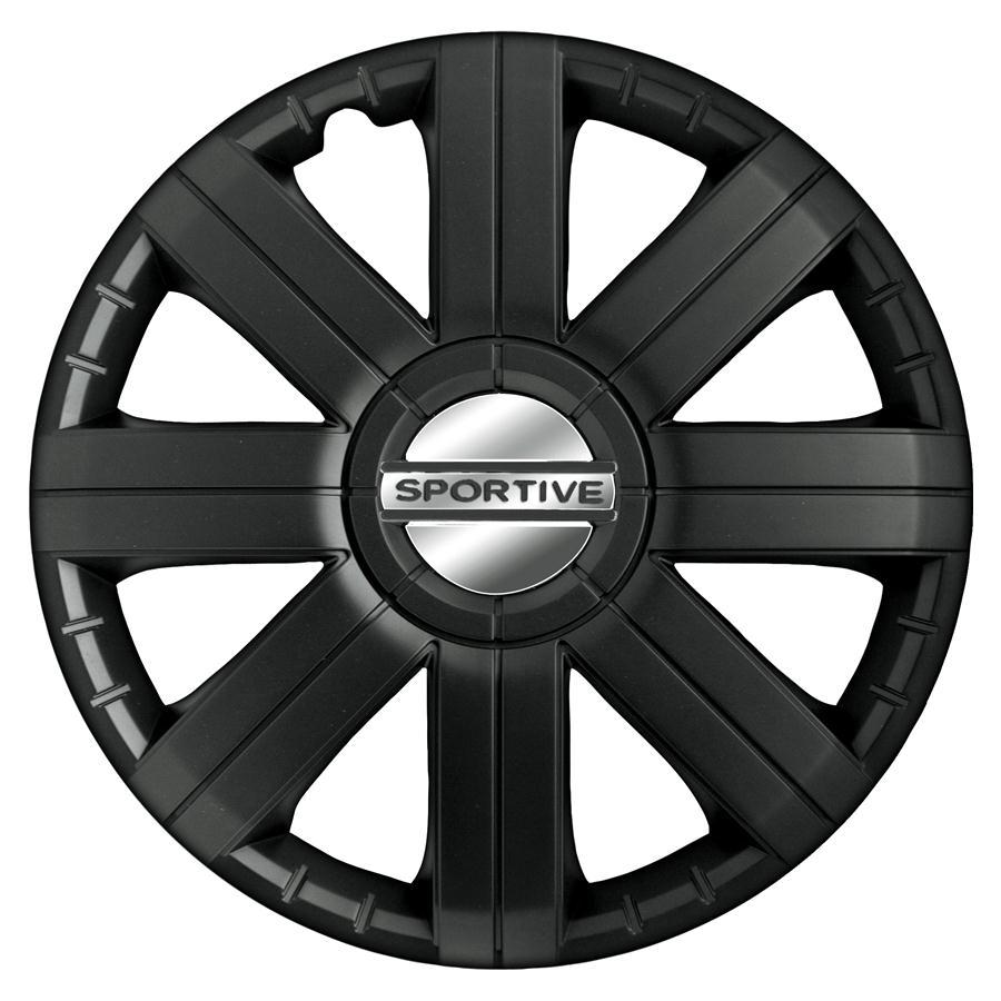 Wieldoppenset - Sportive Pro black  16 inch