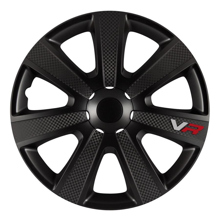 Wieldoppenset - VR Black  16 inch